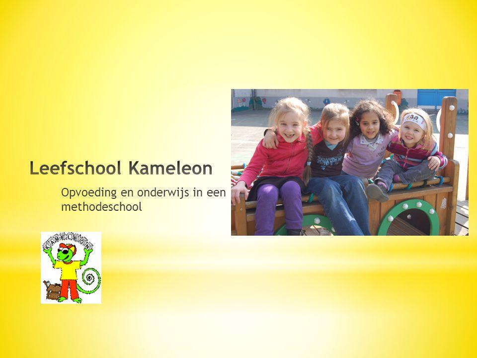 Leefschool Kameleon Opvoeding en onderwijs in een methodeschool
