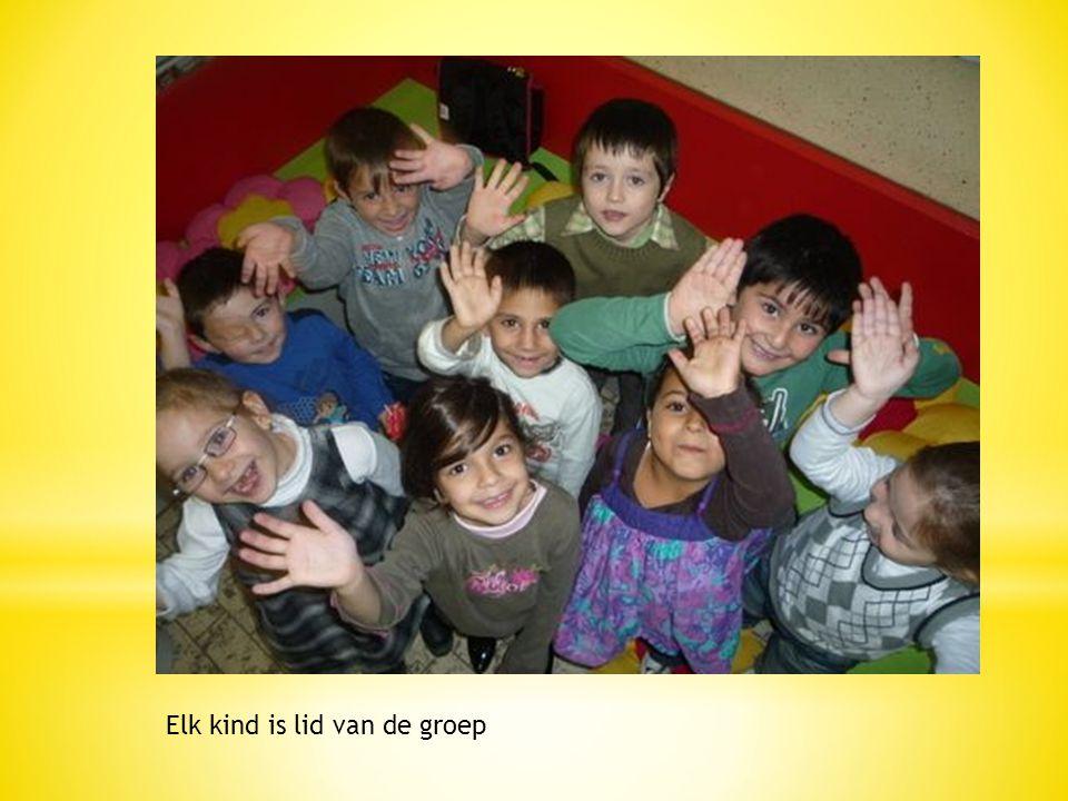 Elk kind is lid van de groep