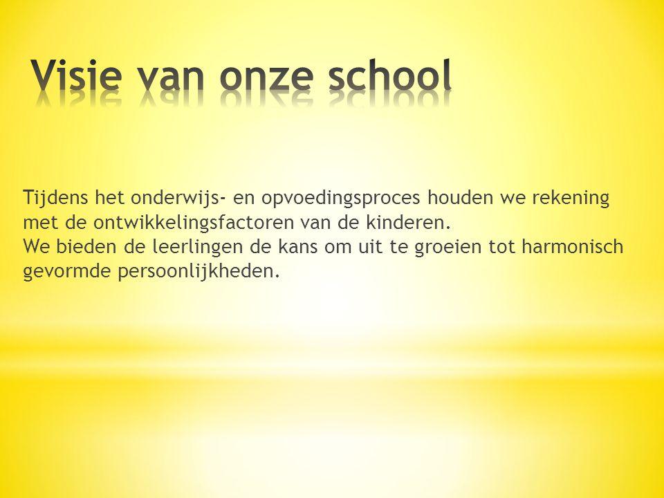 Visie van onze school
