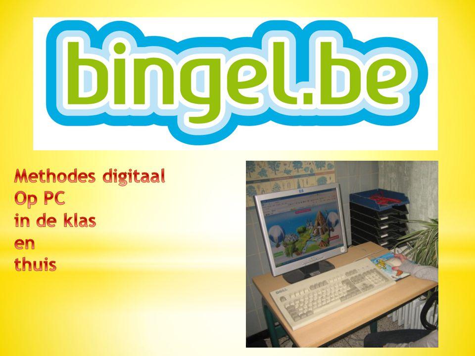 Methodes digitaal Op PC in de klas en thuis