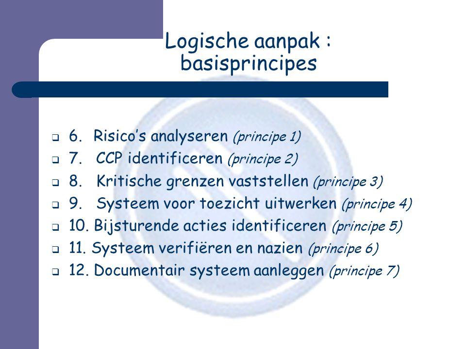 Logische aanpak : basisprincipes