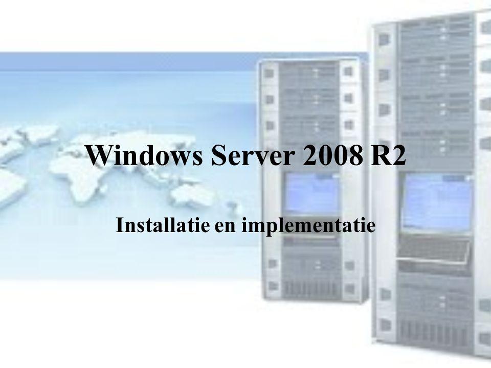 Installatie en implementatie