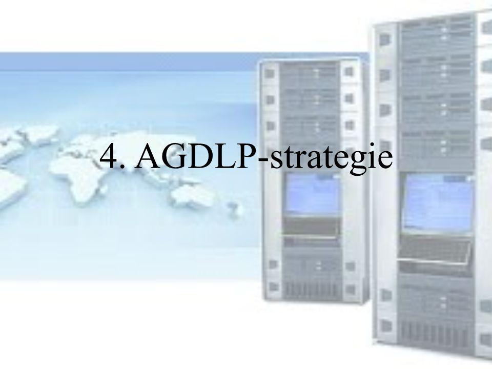 4. AGDLP-strategie