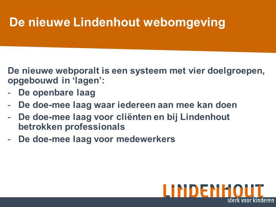 De nieuwe Lindenhout webomgeving