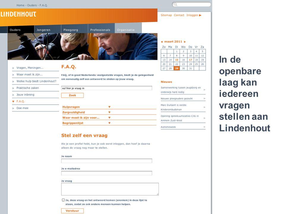 Lindenhout 2.0 ..een jongere die cliënt is