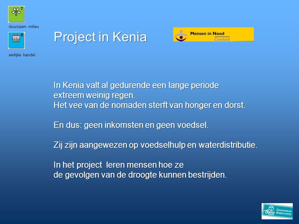 duurzaam milieu Project in Kenia. eerlijke handel.