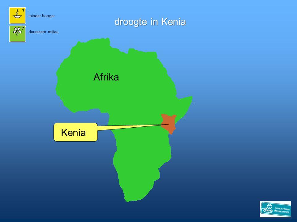 : minder honger droogte in Kenia duurzaam milieu Afrika Kenia 13