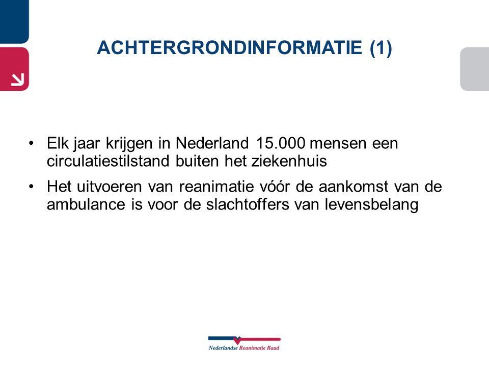 ACHTERGRONDINFORMATIE (1)