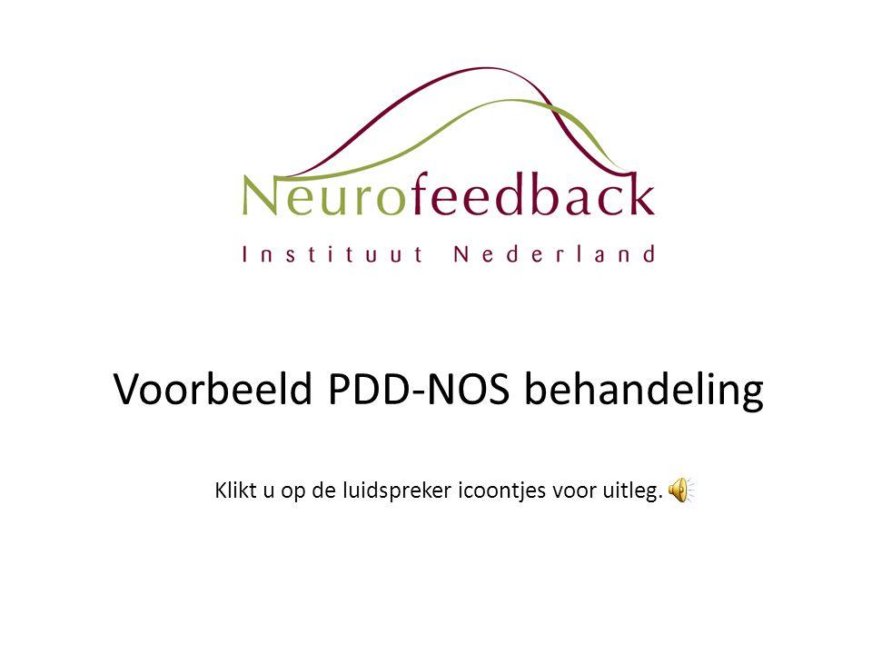 Voorbeeld PDD-NOS behandeling Klikt u op de luidspreker icoontjes voor uitleg.