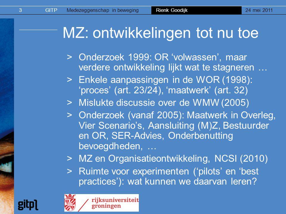 MZ: ontwikkelingen tot nu toe