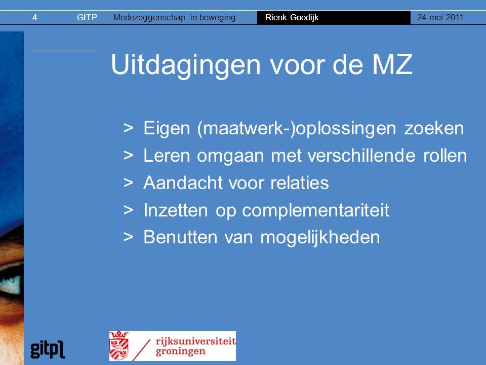 Uitdagingen voor de MZ Eigen (maatwerk-)oplossingen zoeken