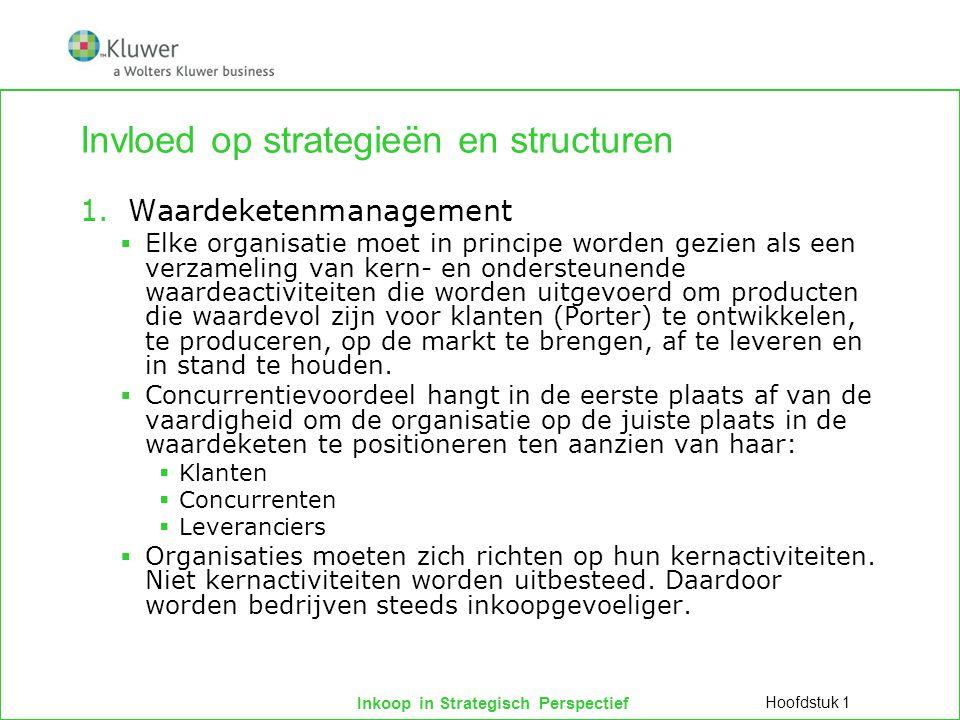 Invloed op strategieën en structuren
