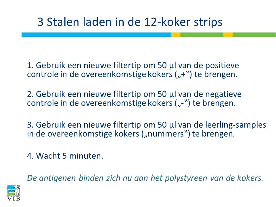 3 Stalen laden in de 12-koker strips
