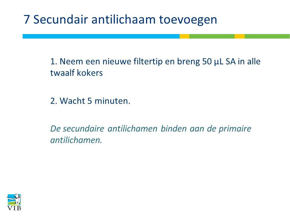 7 Secundair antilichaam toevoegen