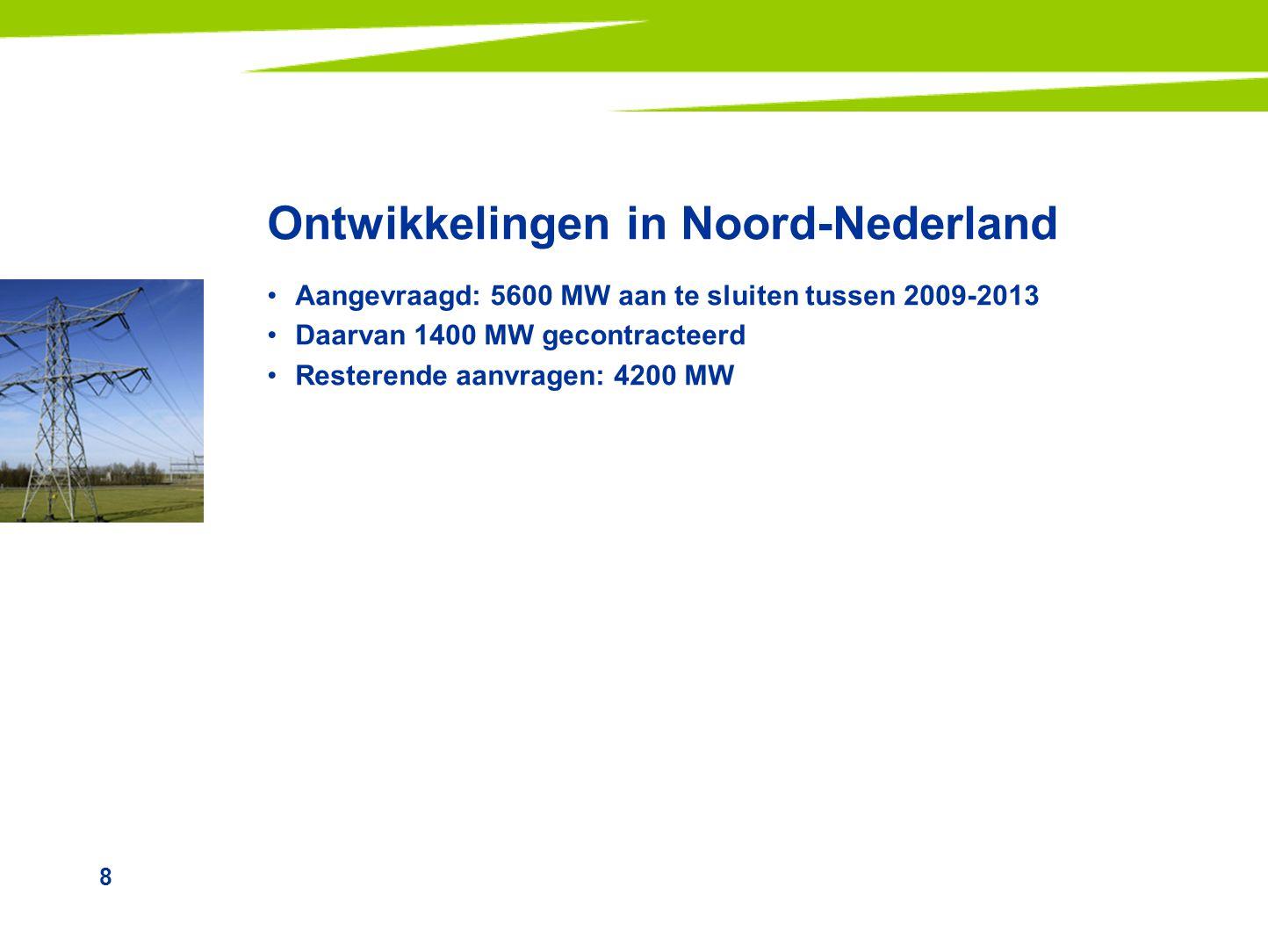 Ontwikkelingen in Noord-Nederland