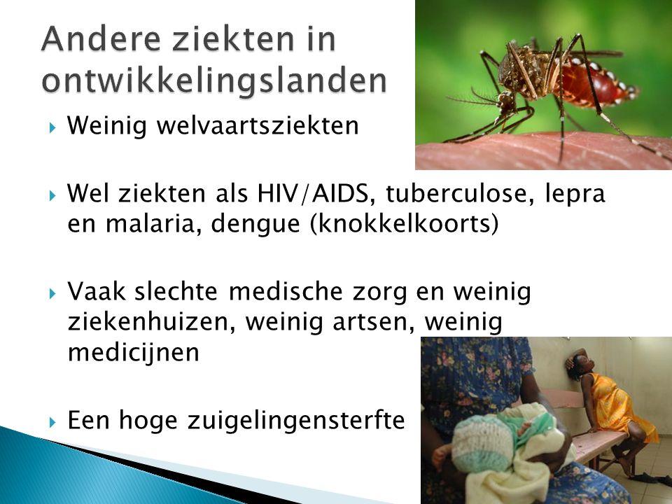 Andere ziekten in ontwikkelingslanden