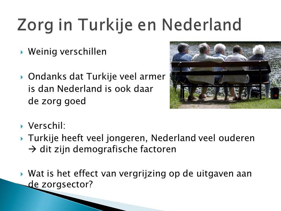Zorg in Turkije en Nederland