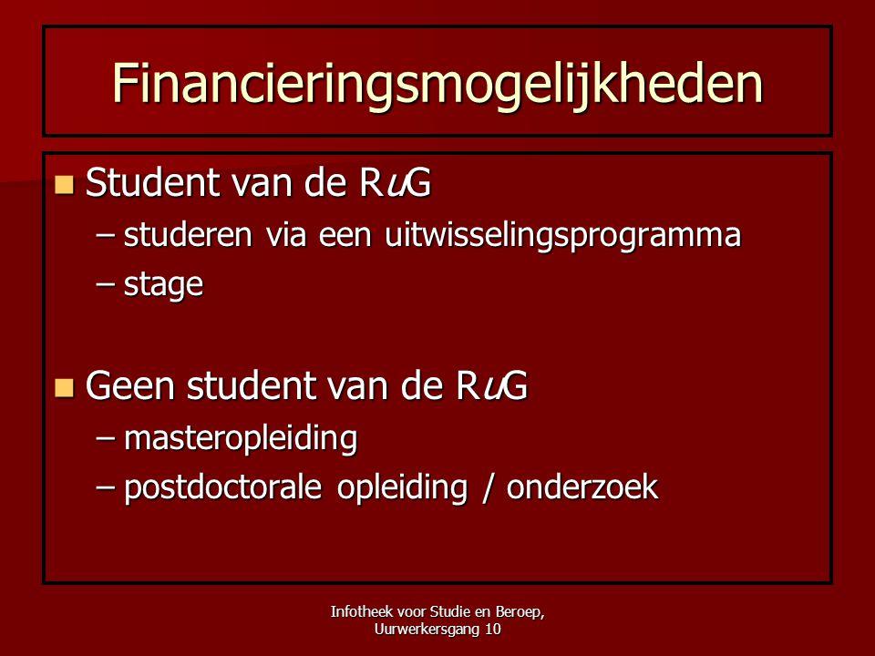Financieringsmogelijkheden