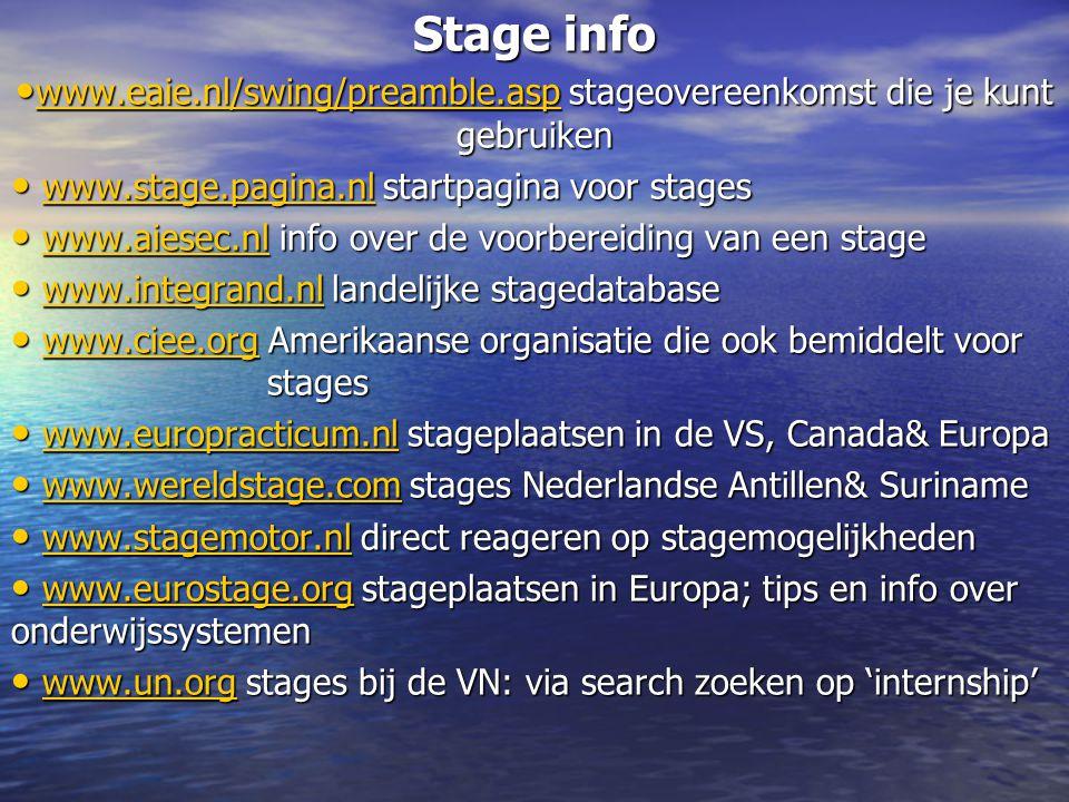 www.eaie.nl/swing/preamble.asp stageovereenkomst die je kunt gebruiken
