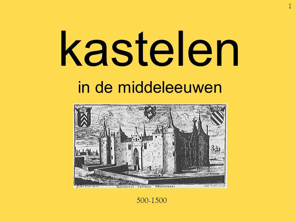 kastelen in de middeleeuwen