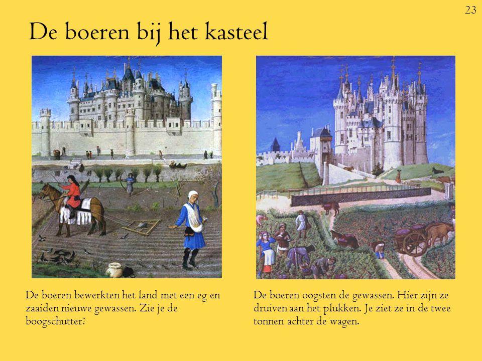 De boeren bij het kasteel