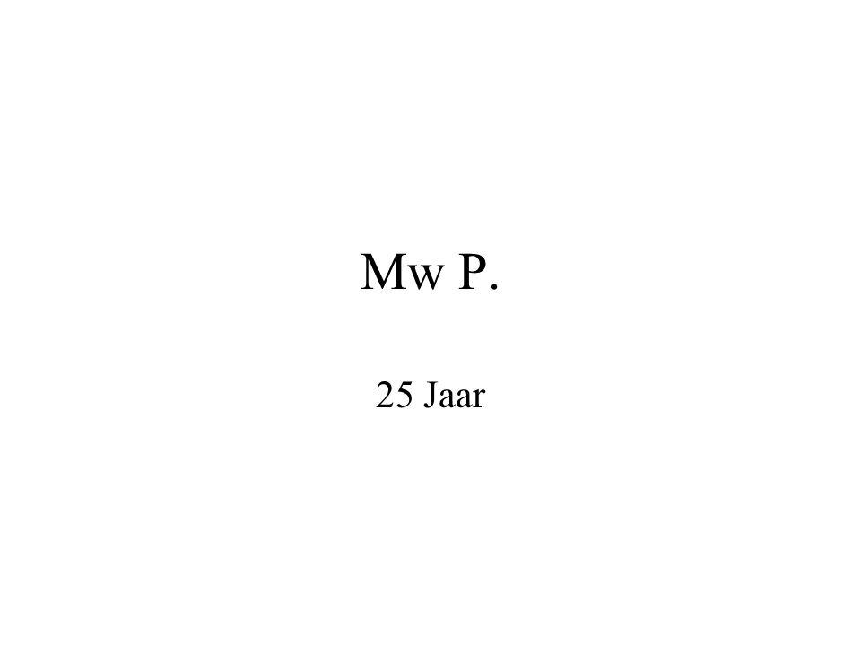 Mw P. 25 Jaar