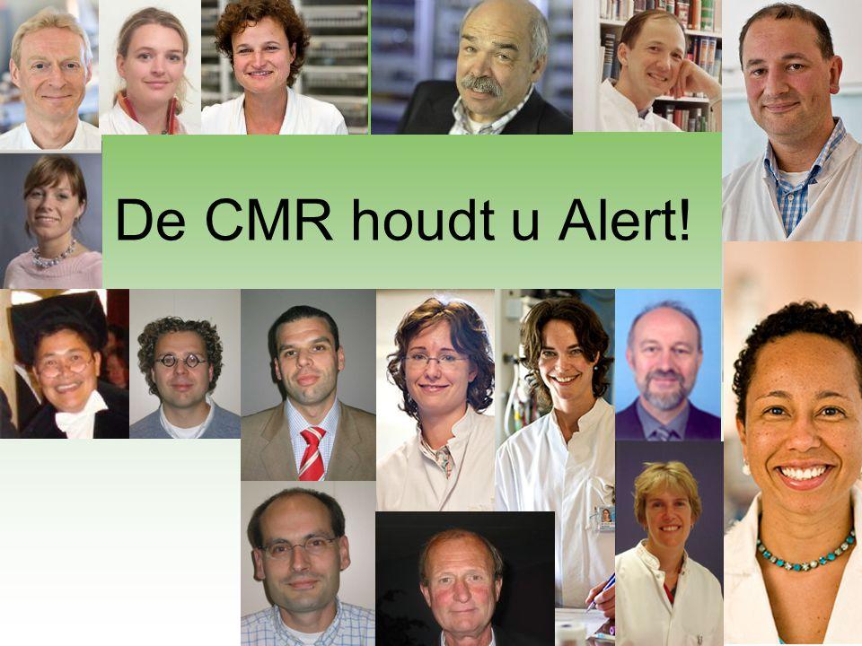 De CMR houdt u Alert! 32