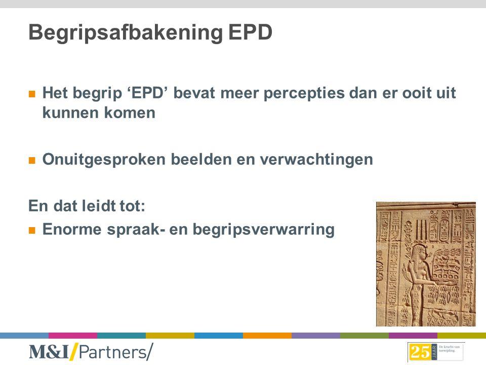 Begripsafbakening EPD