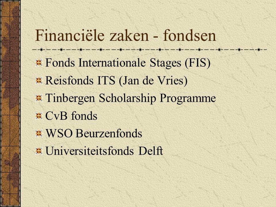 Financiële zaken - fondsen
