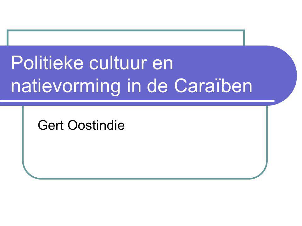 Politieke cultuur en natievorming in de Caraïben
