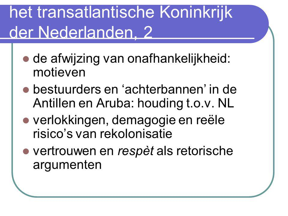 het transatlantische Koninkrijk der Nederlanden, 2