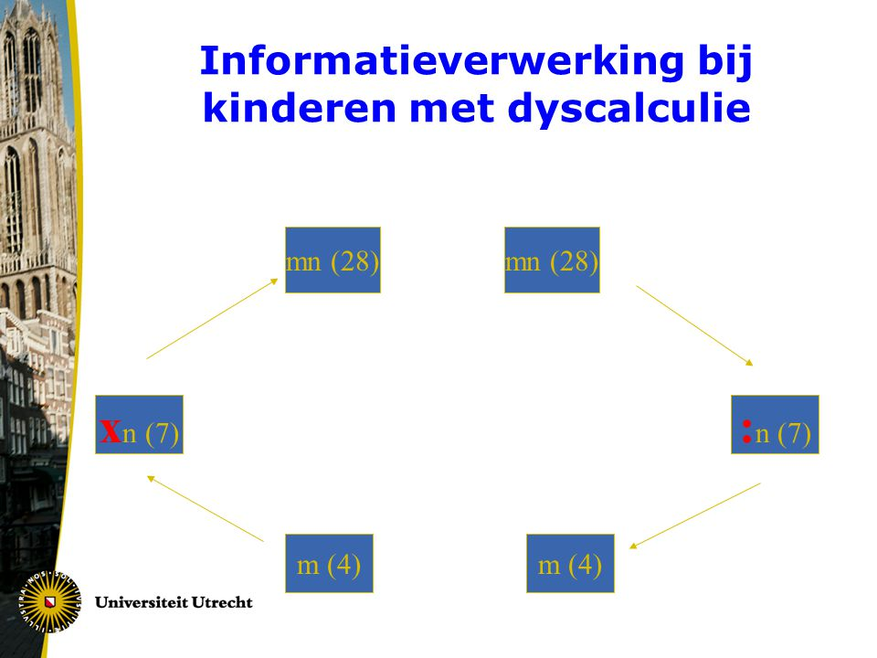 Informatieverwerking bij kinderen met dyscalculie