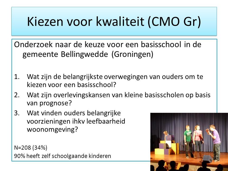 Kiezen voor kwaliteit (CMO Gr)
