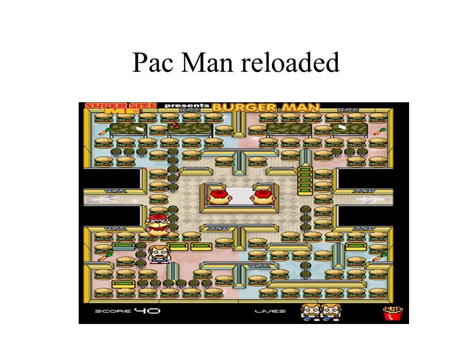 Pac Man reloaded