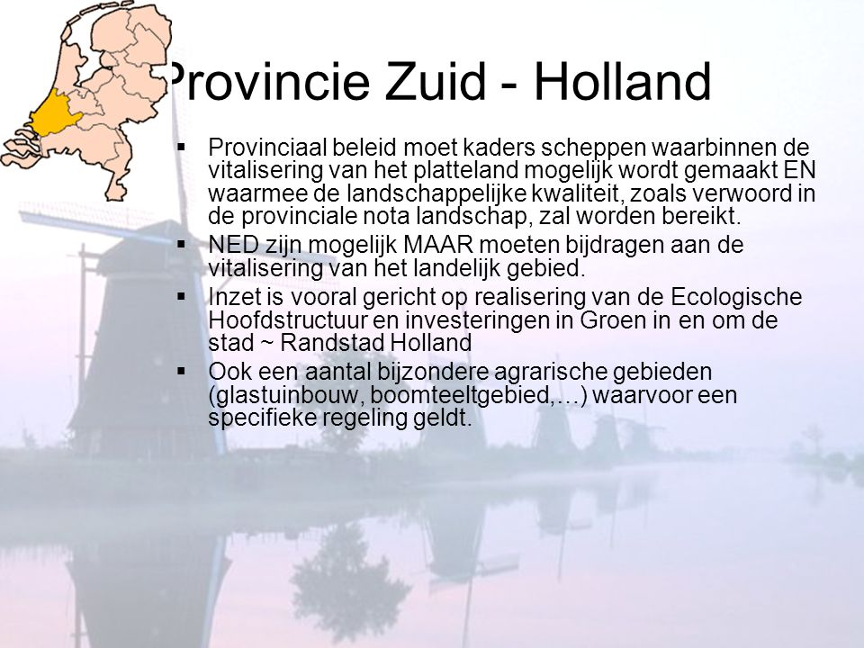 Provincie Zuid - Holland