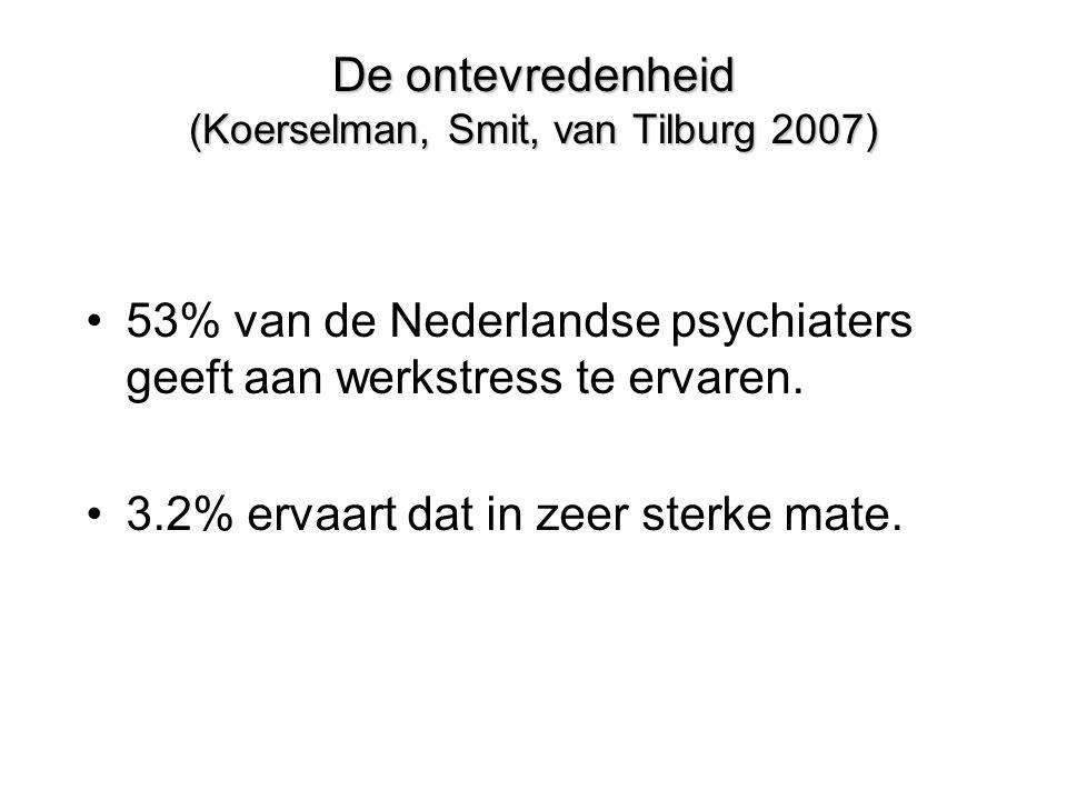De ontevredenheid (Koerselman, Smit, van Tilburg 2007)