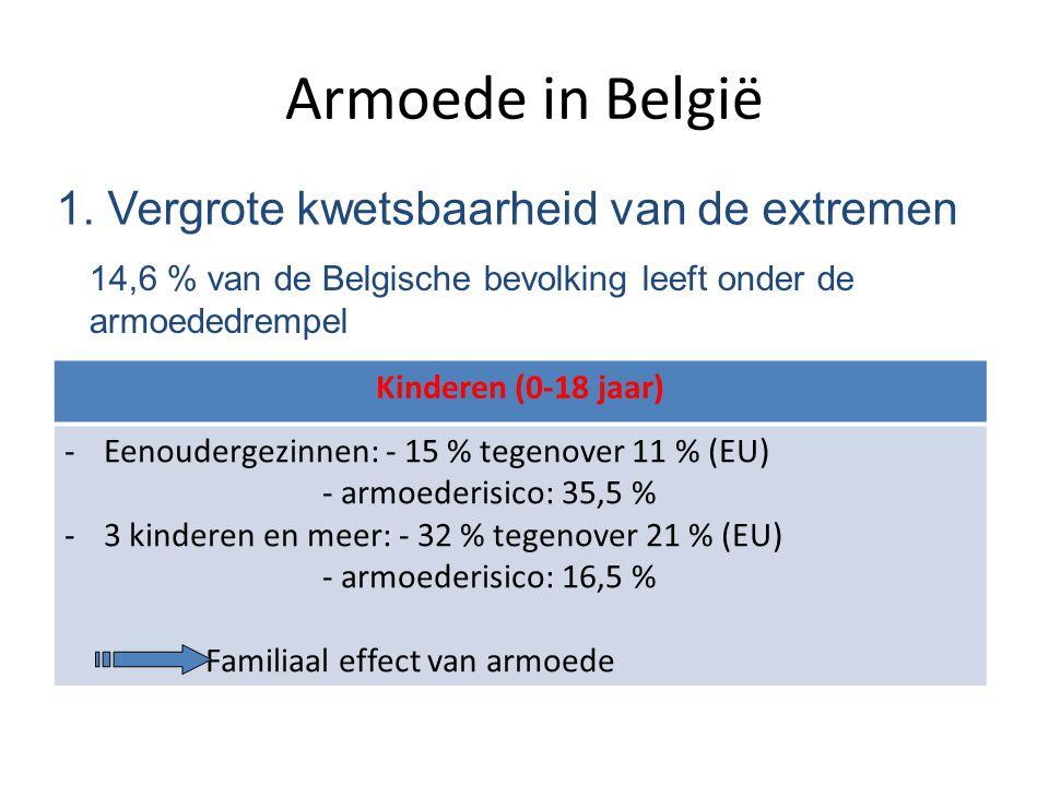 Armoede in België 1. Vergrote kwetsbaarheid van de extremen