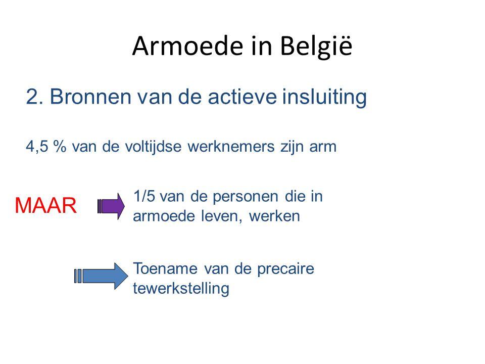 Armoede in België 2. Bronnen van de actieve insluiting MAAR