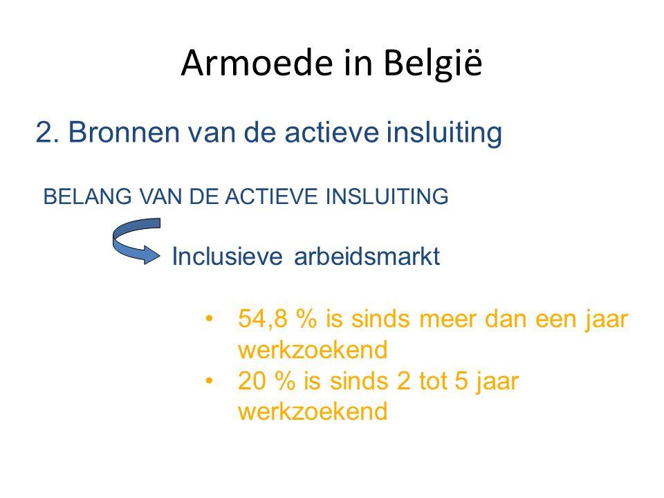 Armoede in België 2. Bronnen van de actieve insluiting
