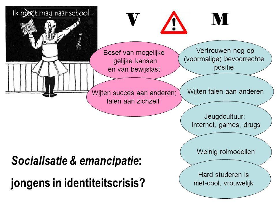 V M Socialisatie & emancipatie: jongens in identiteitscrisis