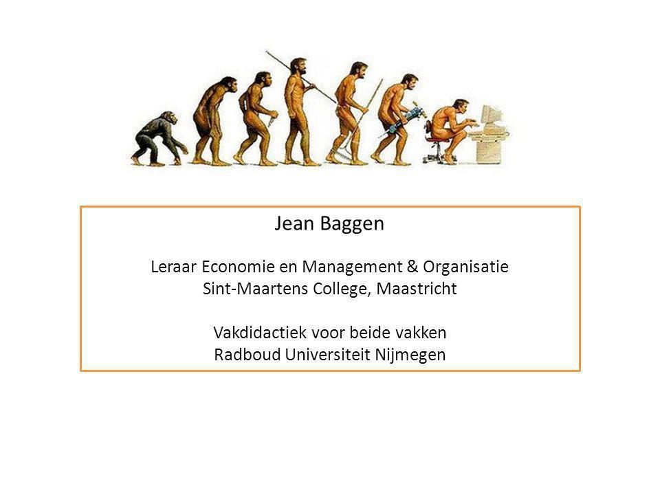 Jean Baggen Leraar Economie en Management & Organisatie