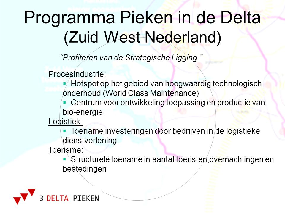 Programma Pieken in de Delta (Zuid West Nederland)