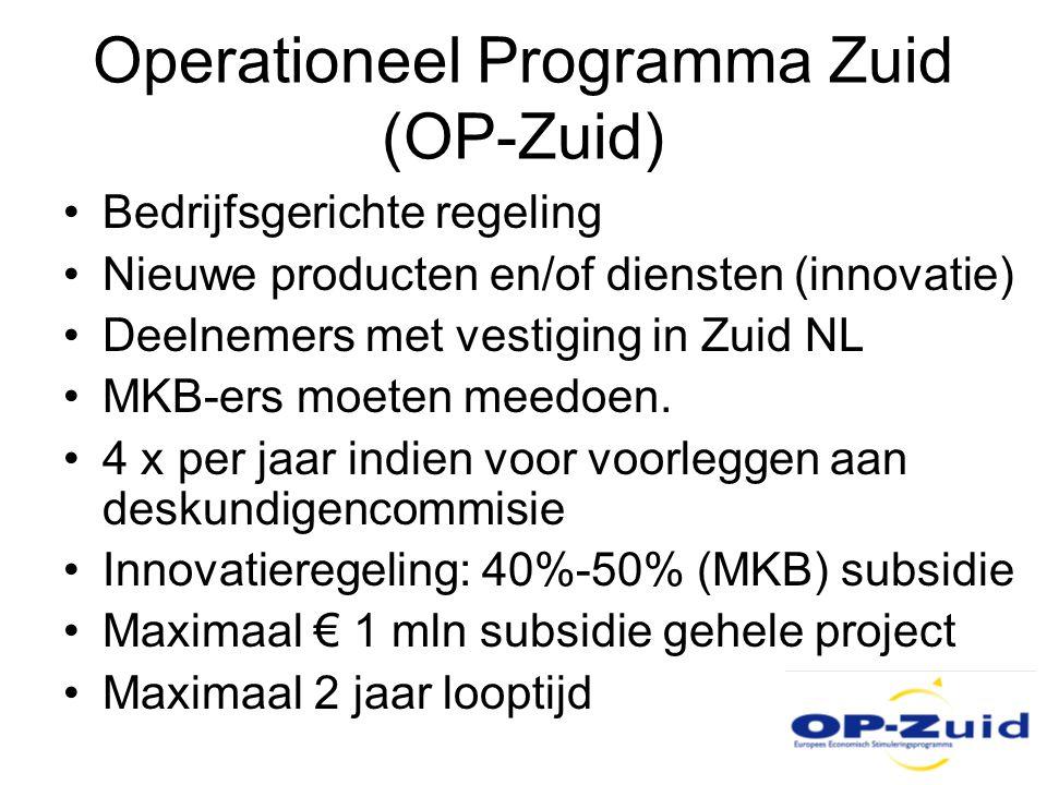 Operationeel Programma Zuid (OP-Zuid)