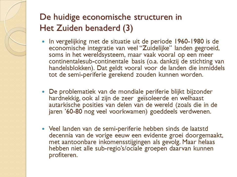 De huidige economische structuren in Het Zuiden benaderd (3)