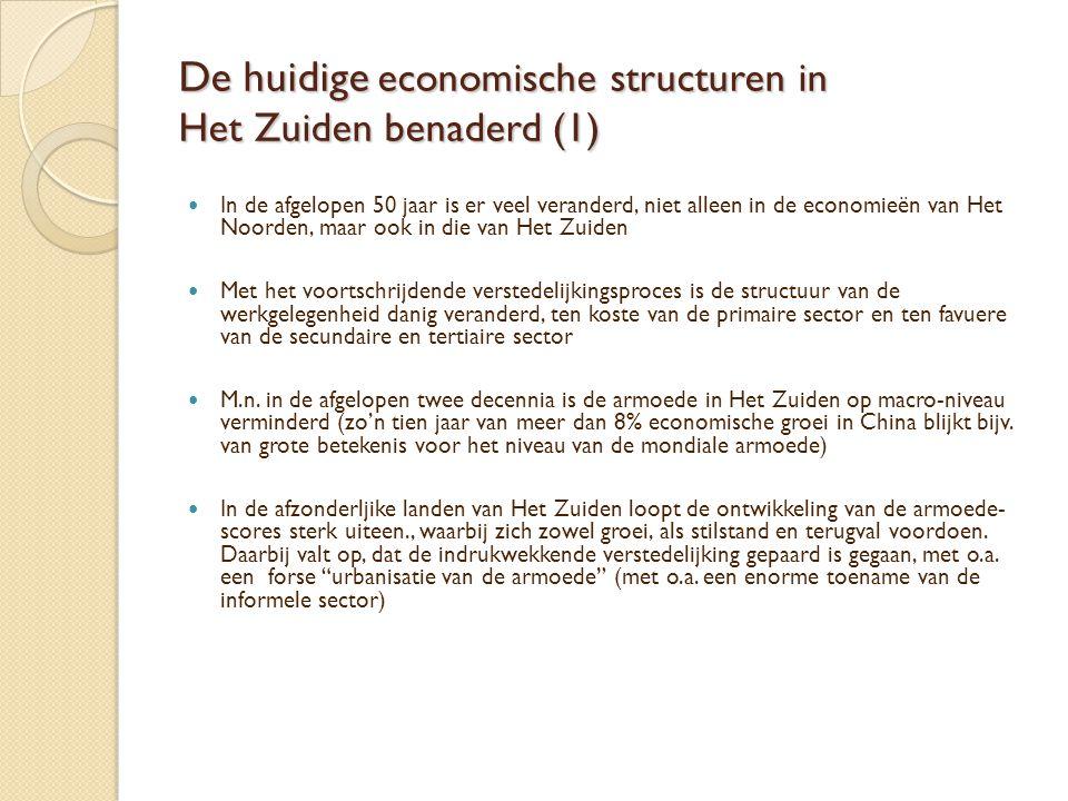 De huidige economische structuren in Het Zuiden benaderd (1)