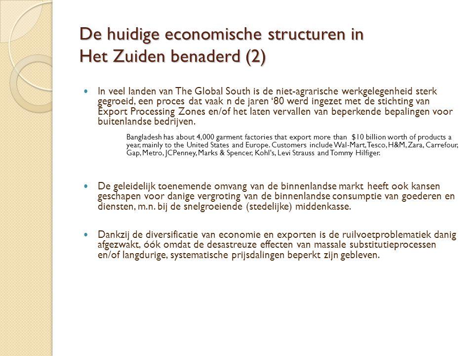 De huidige economische structuren in Het Zuiden benaderd (2)