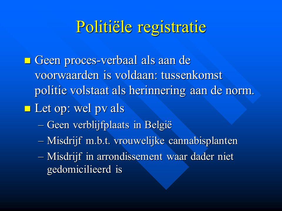 Politiële registratie