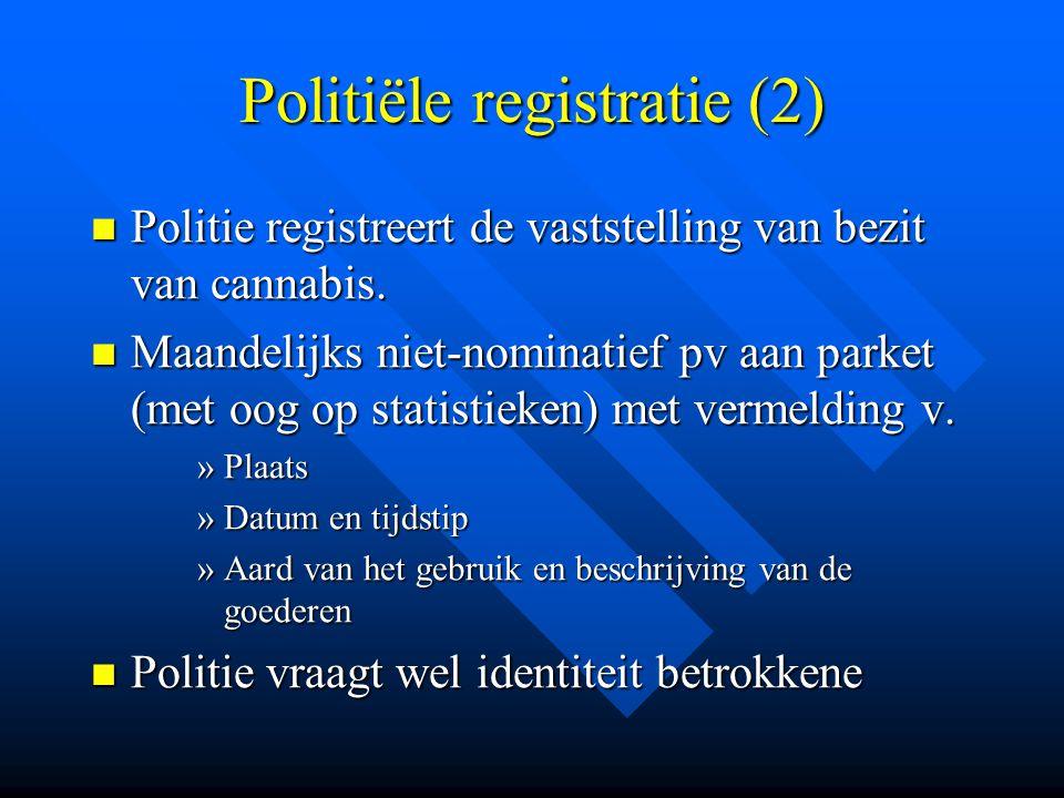 Politiële registratie (2)