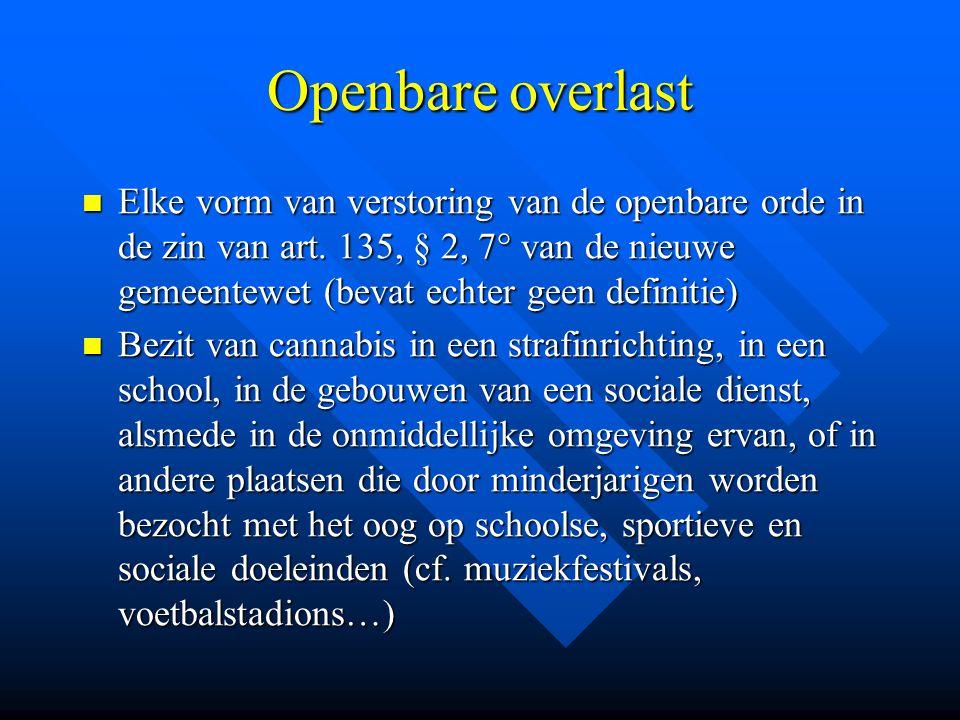 Openbare overlast