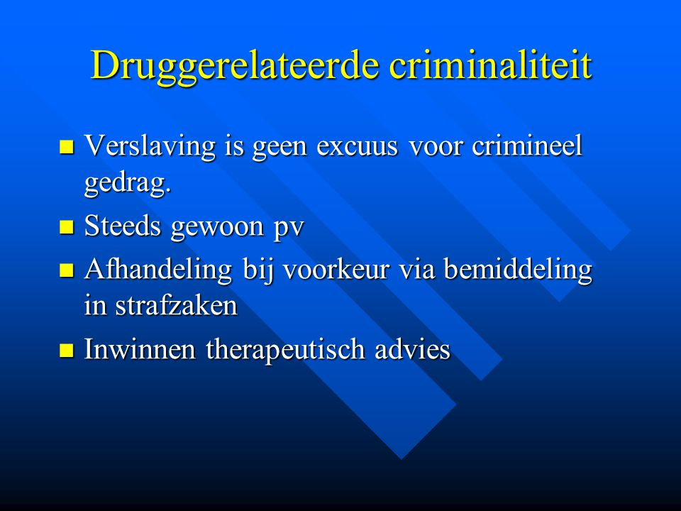 Druggerelateerde criminaliteit